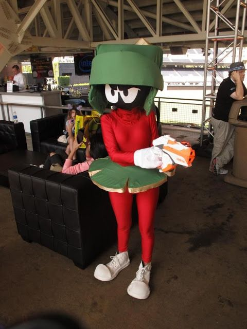 """Marvin Martian; """"Where's the ka-boom? There's supposed to be an Eatch-shattering ka-boom!"""""""