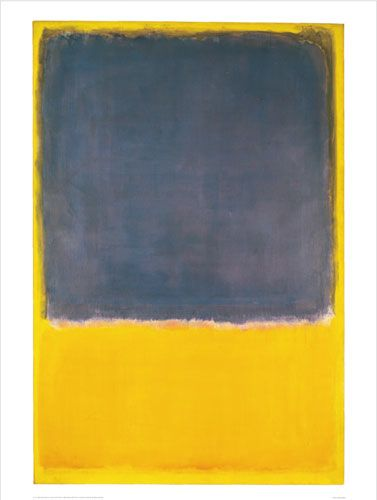 Mark Rothko - Untitled (Blue on Yellow) - 1950