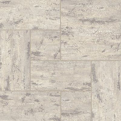 """Armstrong Alterna Reserve 8"""" x 8"""" Engineered Stone Field Tile in Antiqued Ivory"""
