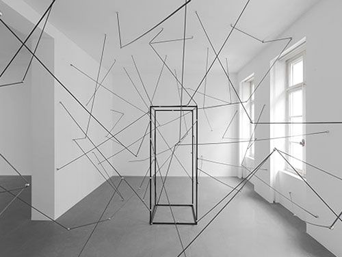 michel francois exhibition at xavier hufkens gallery, brussels