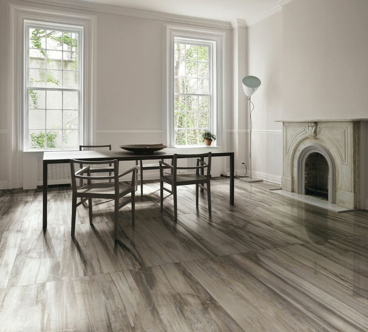 Emilceramica - Living Grey Panther Wood lap. Artisanal  tiling allowing to merge an impeccable style and the need for contemporary, easy and comfortable living.