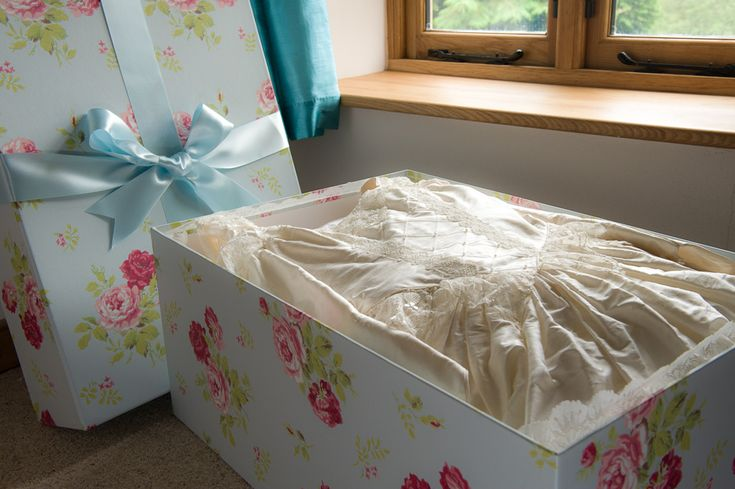 Our acid free wedding dress storage boxes are unlike any others you will find. They are stunning
