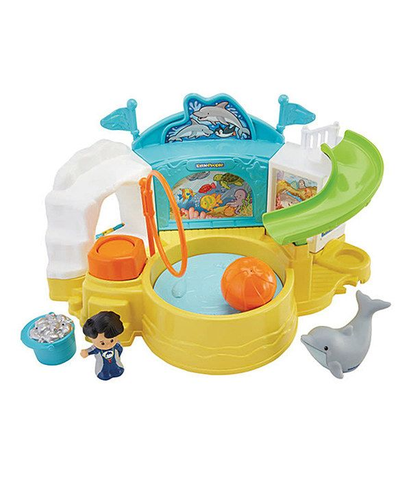 Look at this Fisher-Price Little People Aquarium Visit Toy Set on #zulily today!