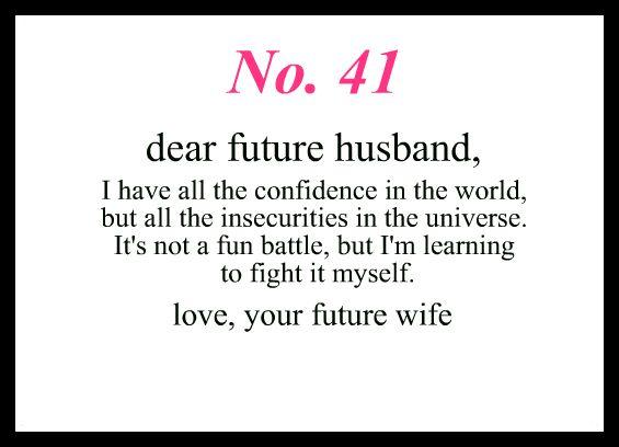 dear my future husband - photo #1