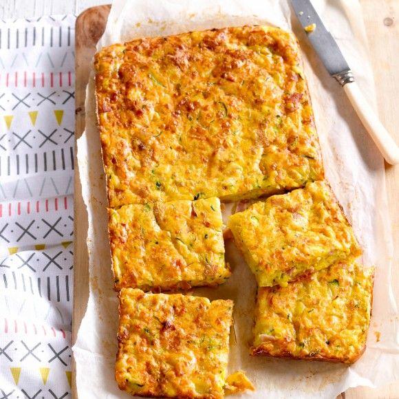 Ham,+Cheese+and+Veggie+Bake