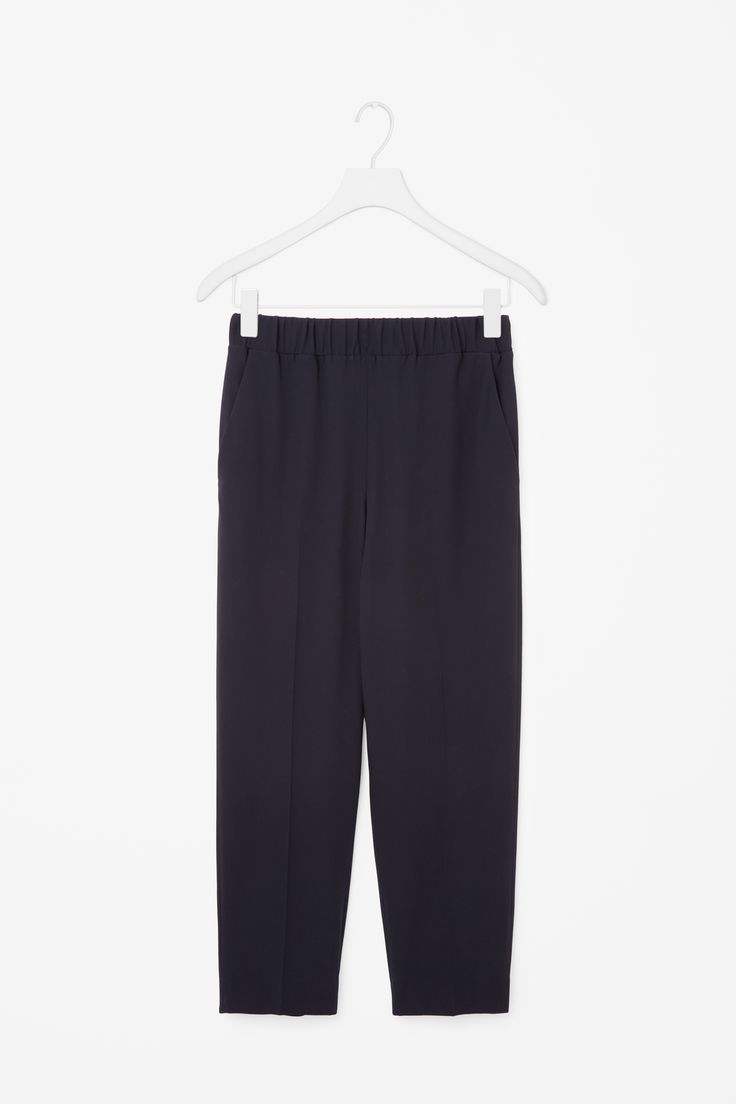 COS | Trousers with gathered waistline