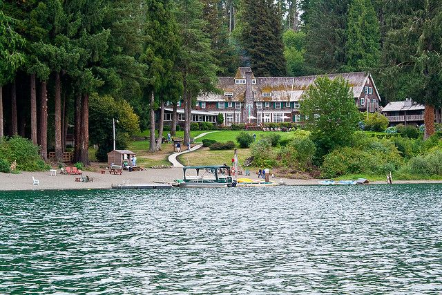 Lake Quinault Lodge - Olympic National Park