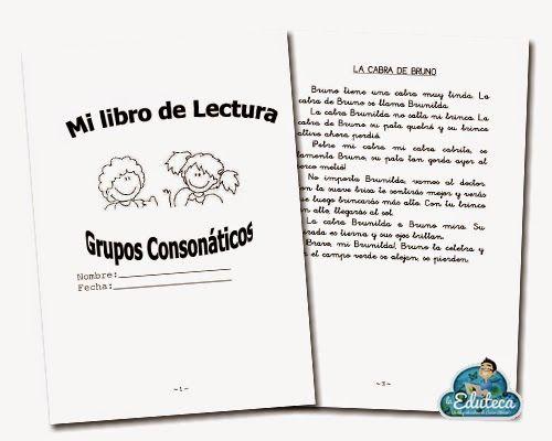 La Eduteca: RECURSOS PRIMARIA   Lecturas para trabajar los grupos consonánticos