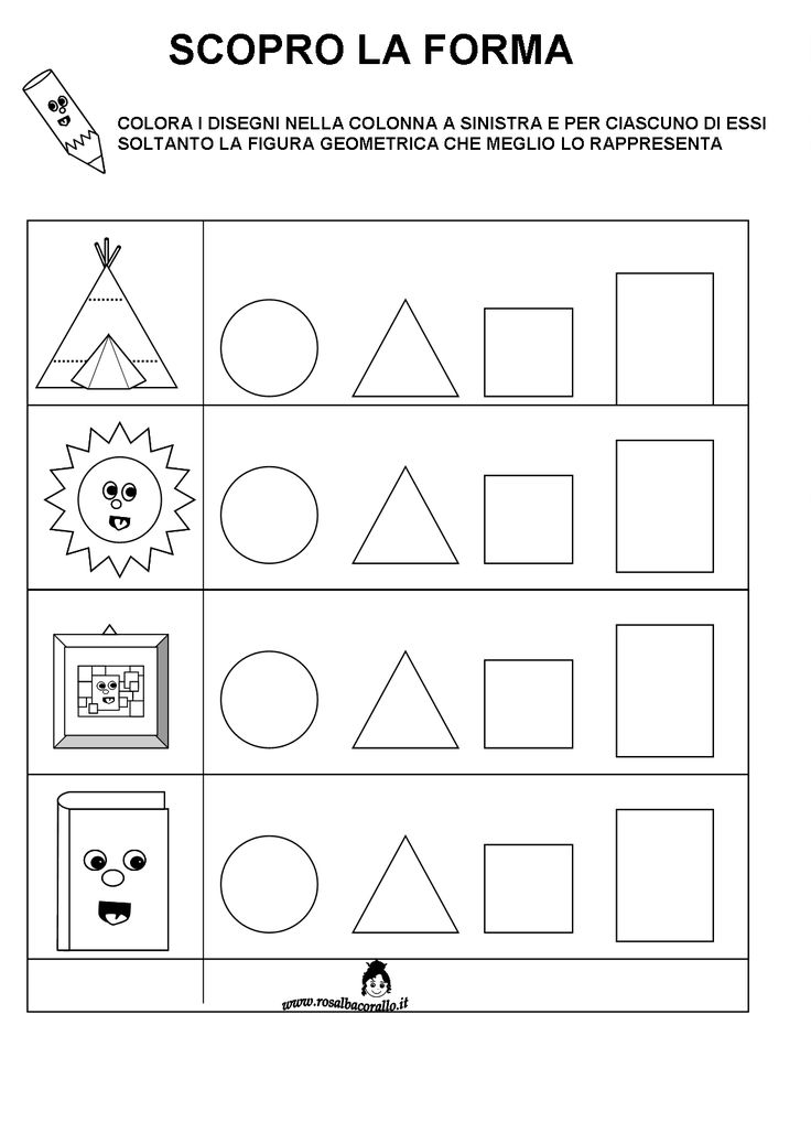schede figure geometriche - Cerca con Google
