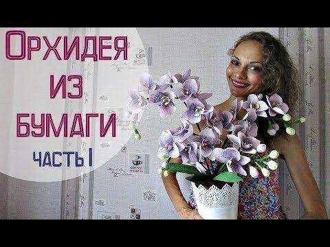 Сегодня наш блогер предлагает видео мастер-класс, в котором расскажет, как сделать орхидею из гофрированной бумаги. Часть 2 - https://www.youtube.com/watch?v...