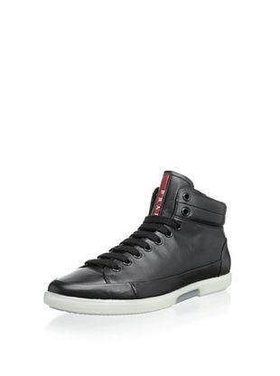 49% OFF Prada Linea Rossa Men's High-Top Sneaker