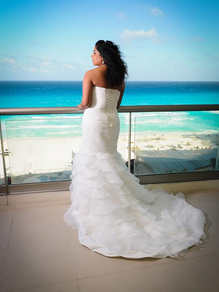 all inclusive beach wedding destinations%0A Say hello to our beautiful bride  Celina   BeachPalace   destinationwedding   beachwedding
