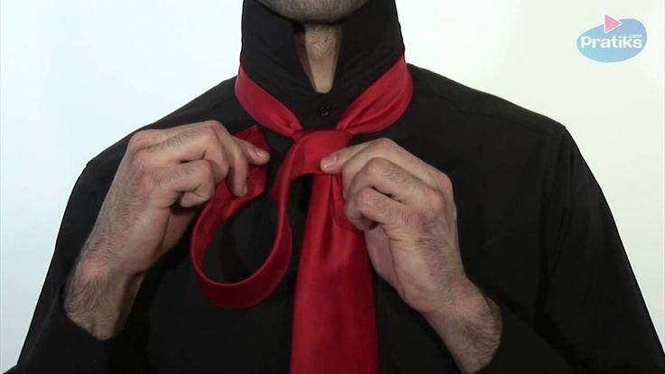Comment faire un noeud de cravate - Le Trinite