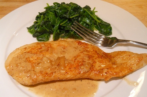 Chicken with Mustard Cream Sauce | For the Love of Food | Pinterest