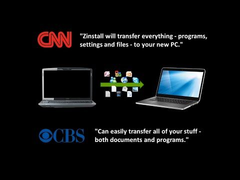 How to transfer programs and files to new PC — Zinstall - Transfer programs and files to new PC, to Windows 10, 8, 7
