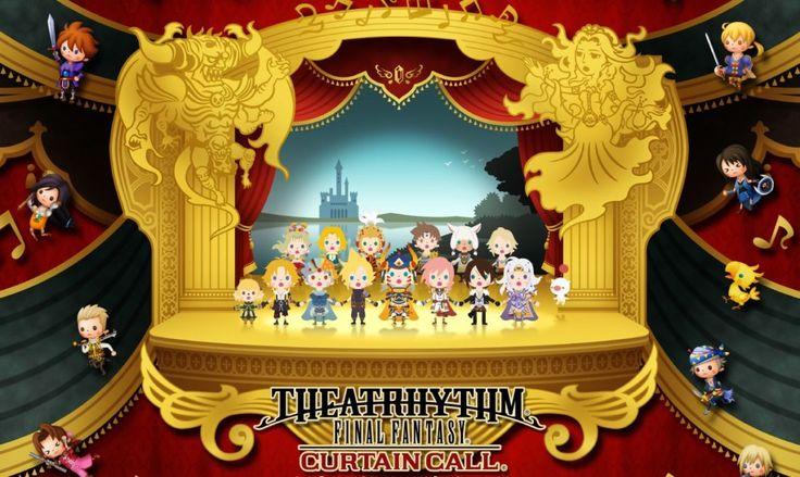 Theatrhythm Final Fantasy Curtain Call : jeu de rythme sur 3DS. Formez une…
