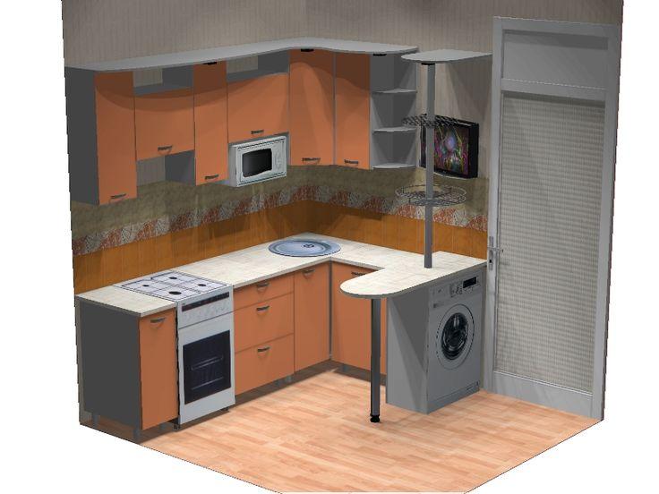 барная стойка в маленькой кухне - Поиск в Google