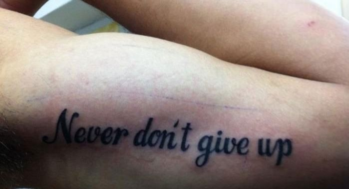 The worlds worst tattoo mistakes! Can't believe some of them are actually real!