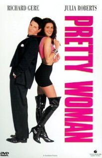 Pretty Woman - A man in a legal but hurtful business needs an escort for some social events, and hires a beautiful prostitute he meets... only to fall in love. (1990)
