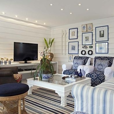 nautical living room ideas - Google Search