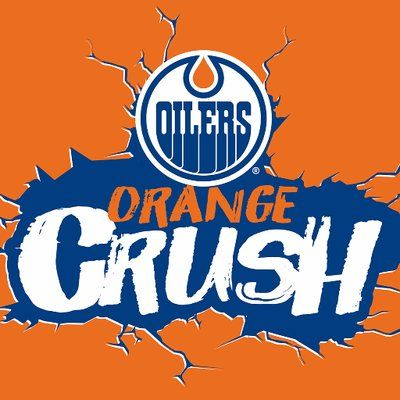 Edmonton Oilers / ORANGE CRUSH!