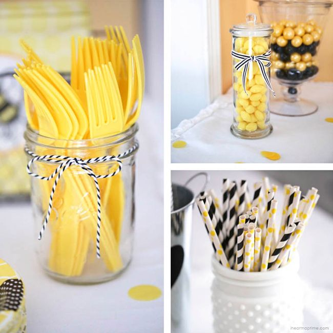 """""""What Will It Bee"""" baby shower with FREE printables"""