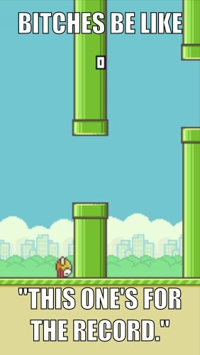 Flappy bird - actually ruining my life