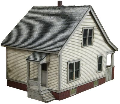 American Wood Architectural Model of a House, 1930