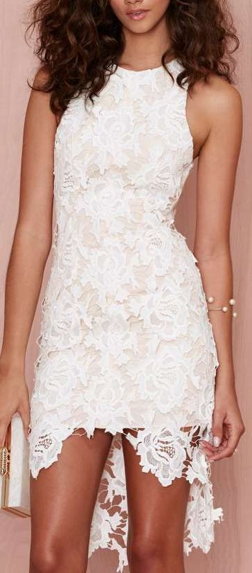 i will wait lace dress (love the dress AND the bracelet!)