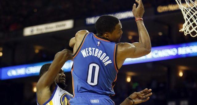 #NBA: Kevin Durant brilla ante su exequipo Warriors ganan al Thunder