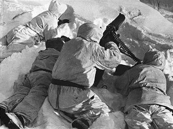 Finnish Machine Gunners Unit In Soviet Finnish War On March 1940 - pin by Paolo Marzioli