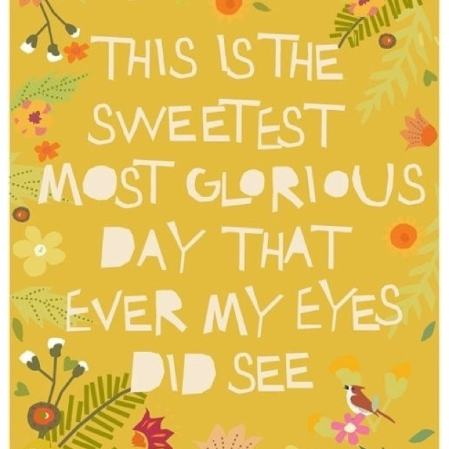 Inspirational Day Quotes: 66 Best Beautiful Day/ Morning Quotes Images On Pinterest