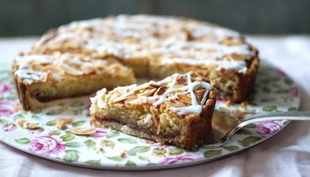 Bakewell tart...need to try to make this for Kevin for Christmas. He talks about these all the time and how much he misses them