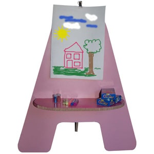 Kids art easel from X-Board.    Janice Anderssen is Women24's Décor & DIY expert.