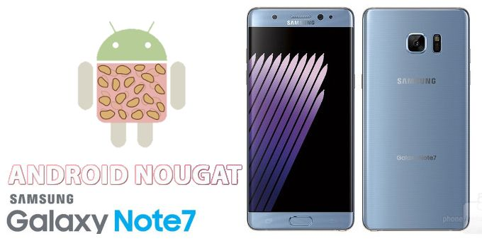 Samsung Galaxy Note 7 gets Android 7.0 Nougat in the autumn update   TheTechNews