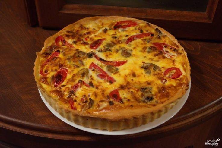 Пирог с курицей - пошаговый кулинарный рецепт с фото на Повар.ру
