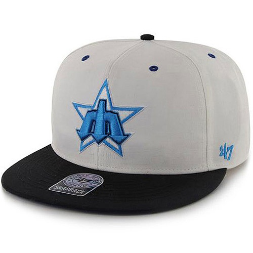 Seattle #Mariners Cooperstown Maxim Neon Snapback ...