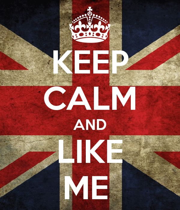 Keep Calm And Like My