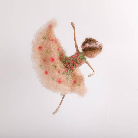 Ballerina Tänzerin Püppchen nadelgefilzt Waldorf