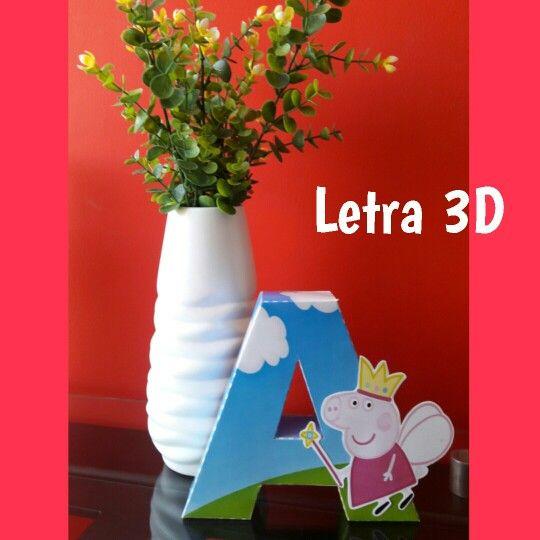 Letra 3D