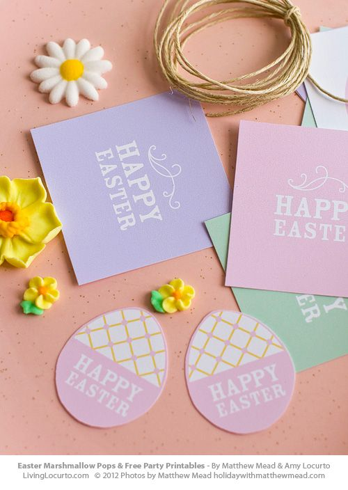 107 best springeaster printables images on pinterest easter free printable easter tags by livinglocurto negle Images
