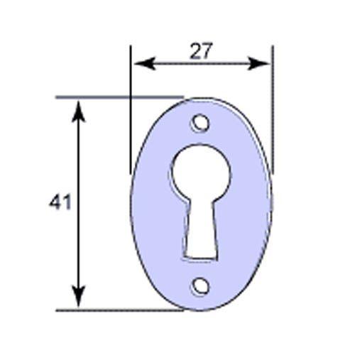 Nyckelskylt till skåp- och garderobslås nummer 3