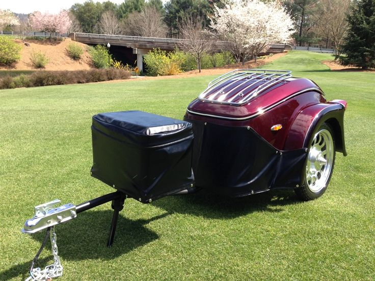 Heritage Motorcycle Trailer | Pull Behind Motorcycle Trailer | The USA Trailer Store
