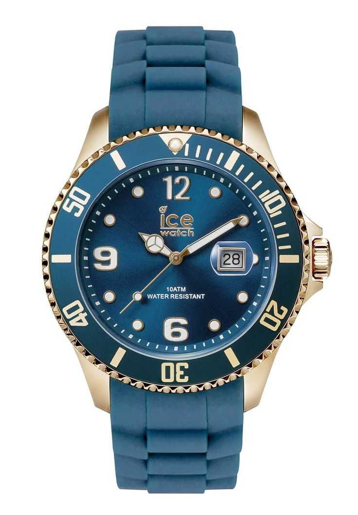 ice watch rose gold oxford blue strap watch style. Black Bedroom Furniture Sets. Home Design Ideas