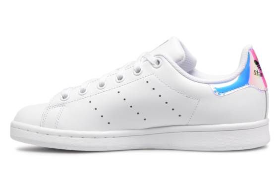 lowest price 12ff5 50bca Baskets Adidas Originals STAN SMITH J Blanc vue face