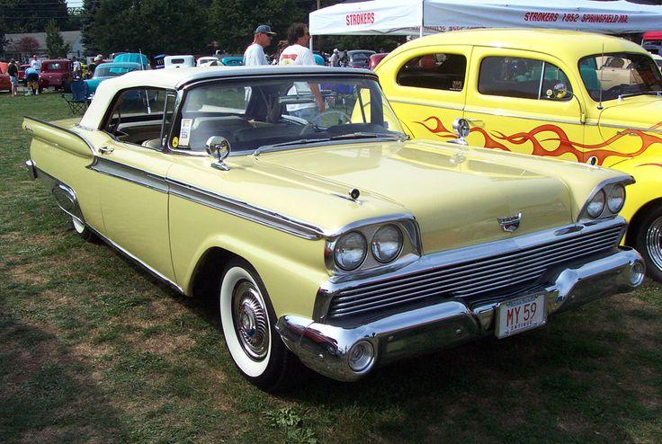 1959 Ford Galaxie Two Door Hardtop