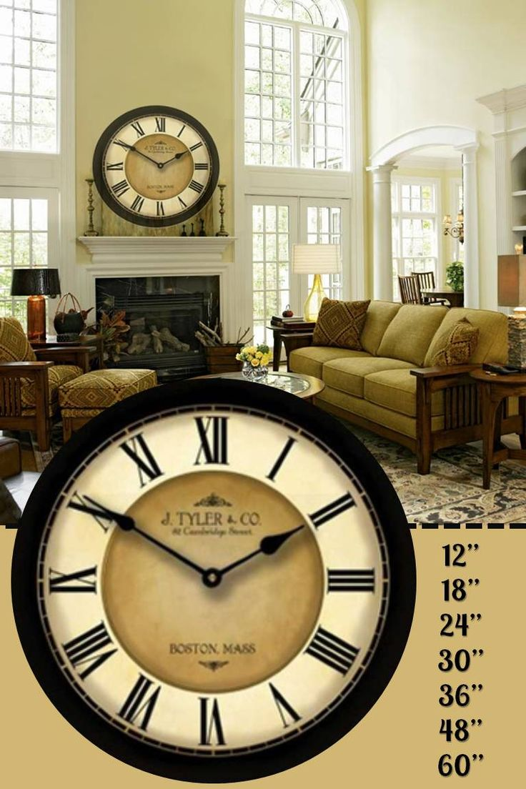 9 best bathroom clocks images on pinterest brand new cafe this classy clock comes in seven difference sizes and is a great addition to any type amipublicfo Choice Image