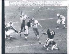 1962 Chicago Bears Roger Leclerc Game Winning FG VS Vikings Press Photo