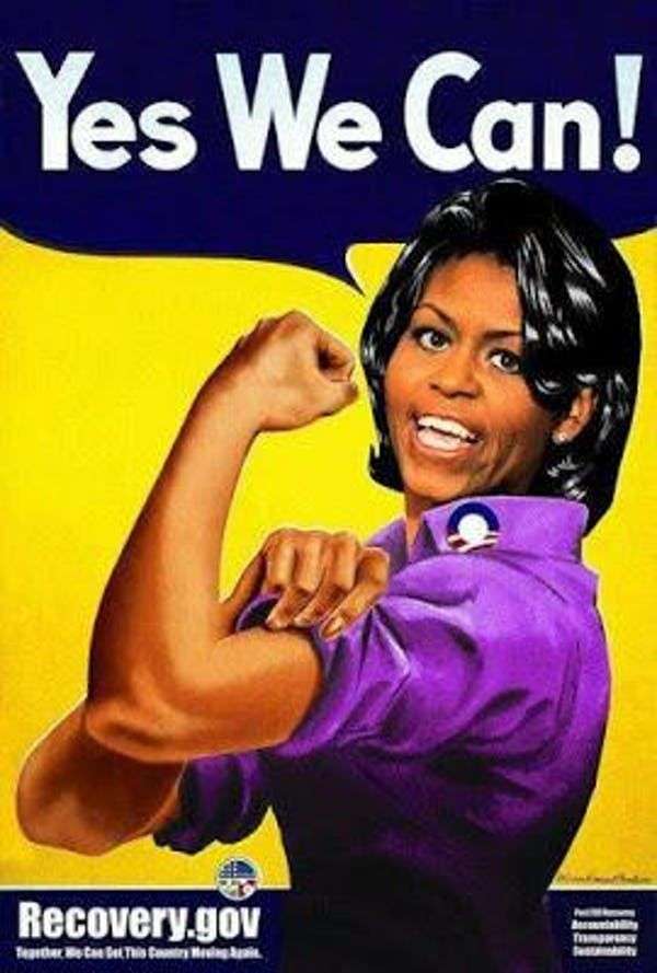 Celebrities Lists On Ranker Rosie The Riveter Poster Rosie The Riveter Michele Obama