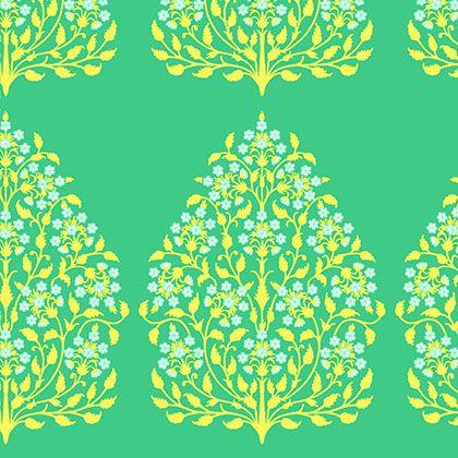 Lark - Henna Trees Fabric